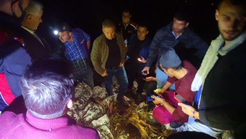 Bucak'ta orman yangını