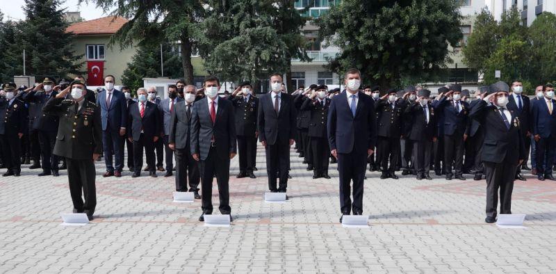 Burdur'da Gaziler Günü kutlaması