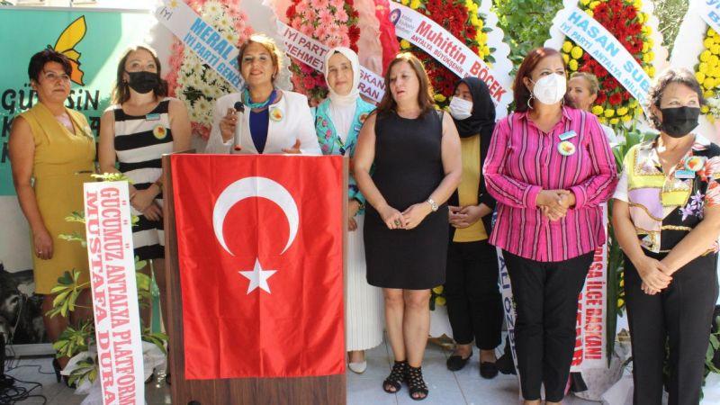 Antalya'da Güneşin Kadınları Kooperatifi açıldı