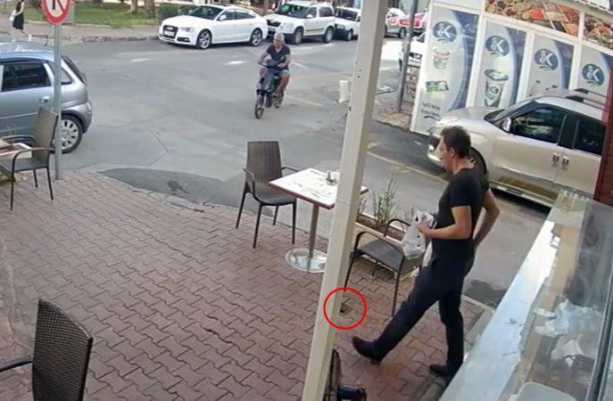 Börekçide düşürdüğü cüzdanı başka bir müşteri aldı