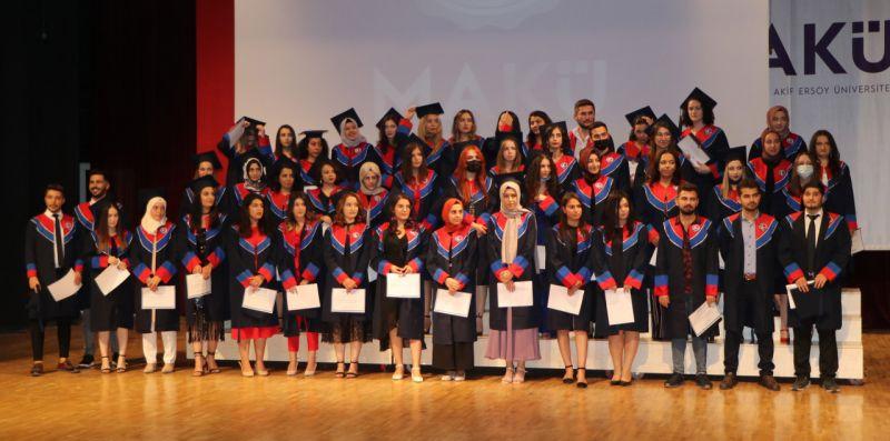 MAKÜ'de mezuniyet törenleri