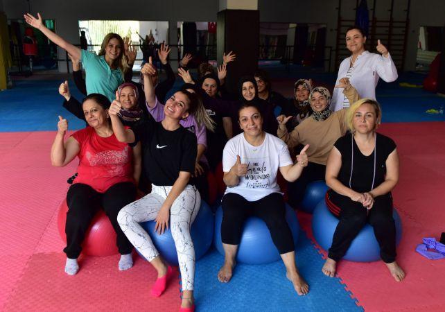 Kepezli kadınlar spor ile mutlu