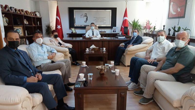 Memleket Partisi'nden Kaymakam Burhan'a ziyaret