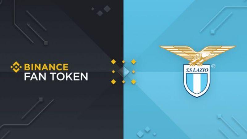 Binance fan token platformunu başlatmak için Lazio ile ortaklık yapacak