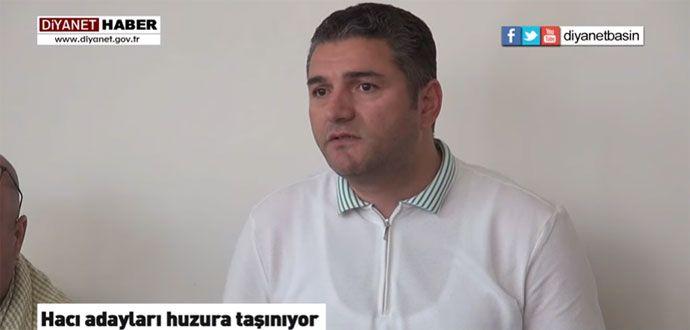 Diyanet Hacı Adaylarını Huzura Taşıyor
