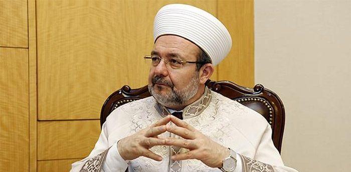 Diyanet İşleri Başkanı Mehmet Görmez MÜSİAD'da