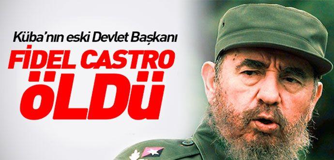 Efsanevi Lider Fidel Castro Öldü