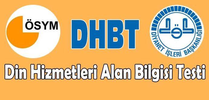 2016 DHBT Sınav Giriş Belgesi Çıktısı Al