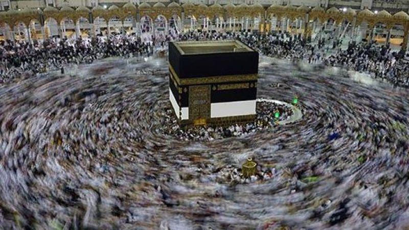 90 Bin Hacı Adayı Bugün Mekke'de