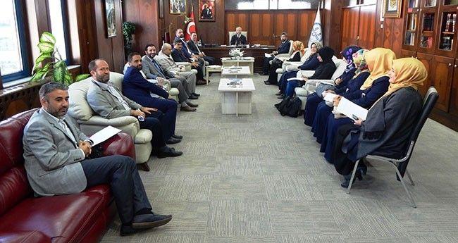 İlmî Müzakere Koordinatörleri Toplantı