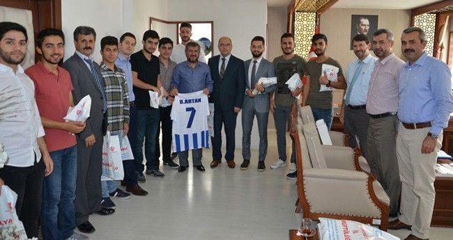 KYK Öğrencilerinden Antalya Müftüsüne Ziyaret
