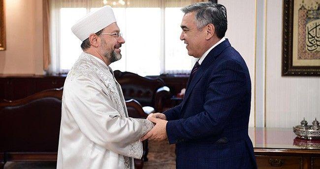 Diyanet İşleri Başkanı Erbaş Özbekistan'da