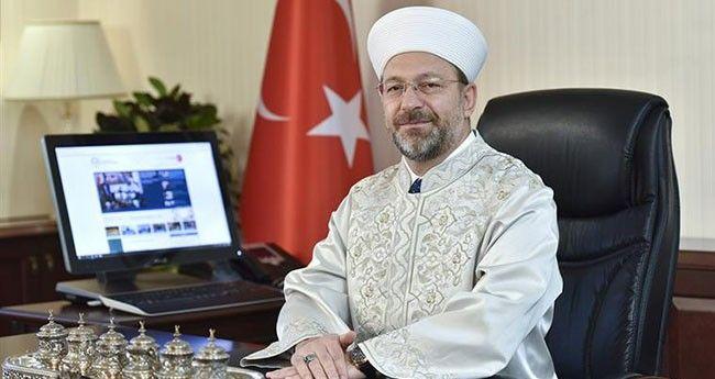 Başkan Erbaş'tan Şehit Ailelerine Taziye Ziyareti