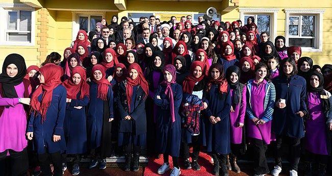 Başkan Erbaş'tan İmam Hatip Lisesine Ziyaret