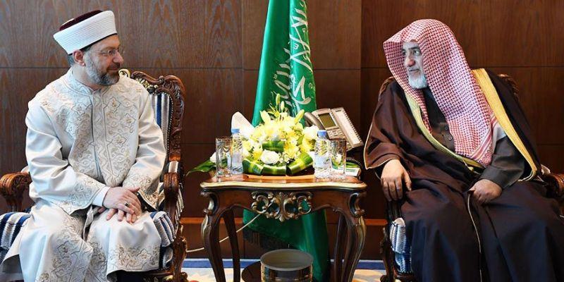Başkan Erbaş'ın Riyad Temasları Sürüyor