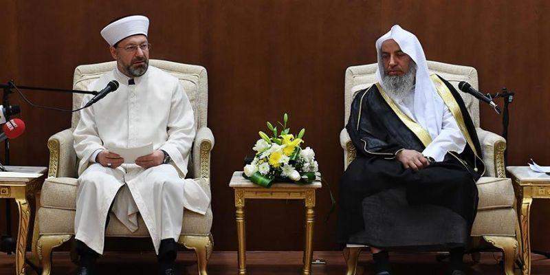 Başkan Erbaş Riyad'da Konferans Verdi