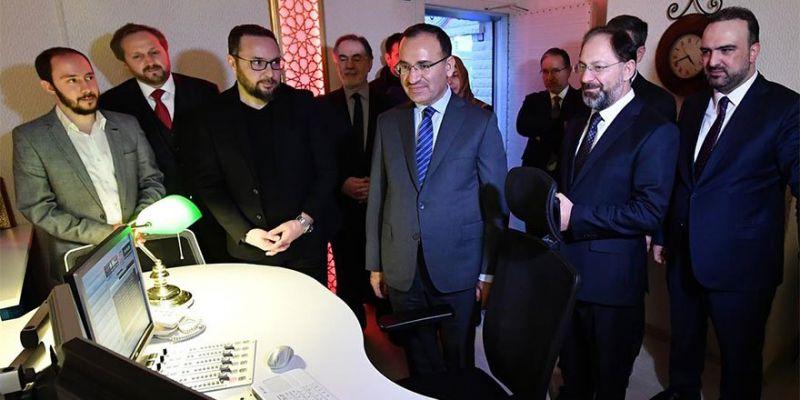 Bozdağ'dan Diyanet TV'ye Ziyaret