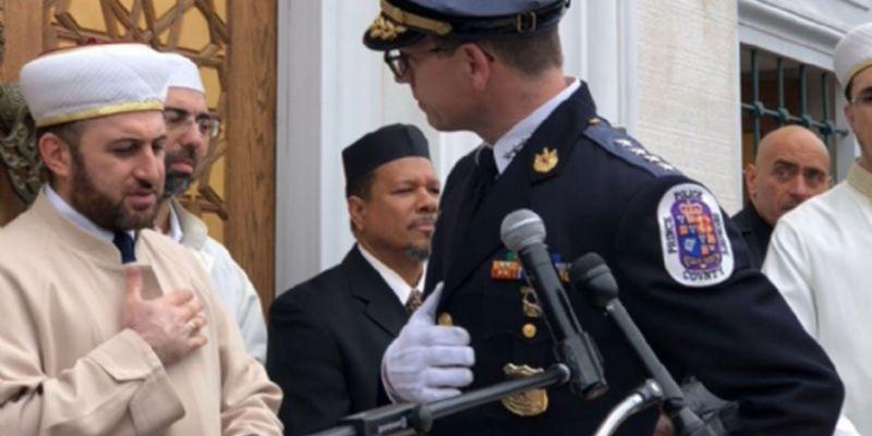 ABD'li Müslüman Polise Veda