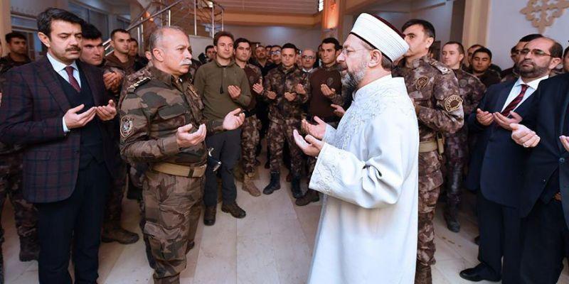 Diyanet İşleri Başkanı Erbaş'tan PÖH'e Ziyaret