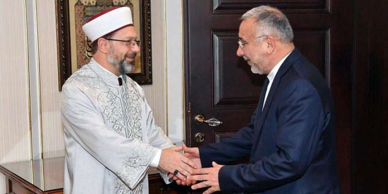 İran'ın Ankara Büyükelçisi Diyanet'te