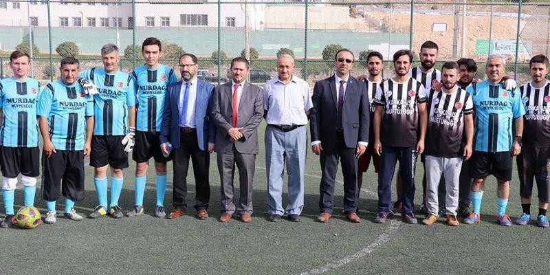 Müftülükler Arası Futbol Turnuvası Başladı
