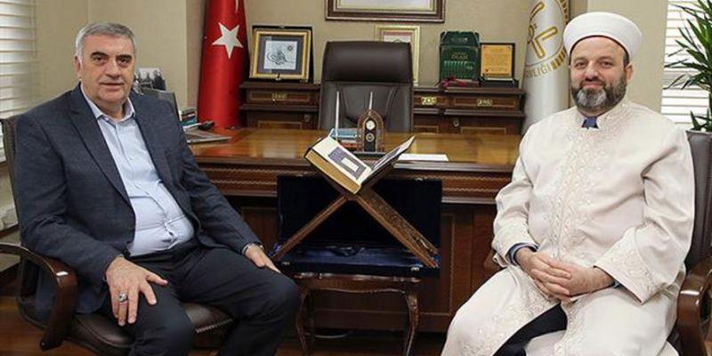 Başkan Toçoğlu'dan Müftü Açık'a Ziyaret