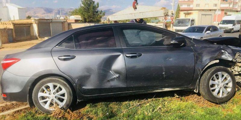 Kızıltepe Müftüsü Trafik Kazası Geçirdi