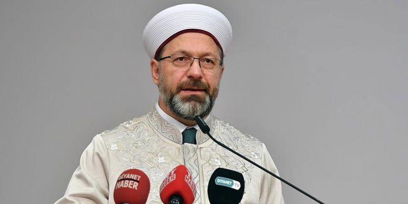 Diyanet İşleri Başkanı Erbaş: Kudüs Müslümanların Ortak Meselesidir