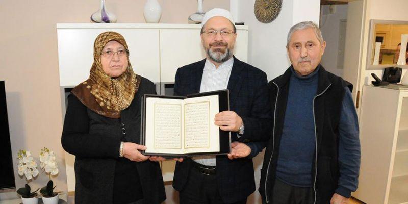 Prof. Dr. Erbaş'tan Anlamlı Ziyaret