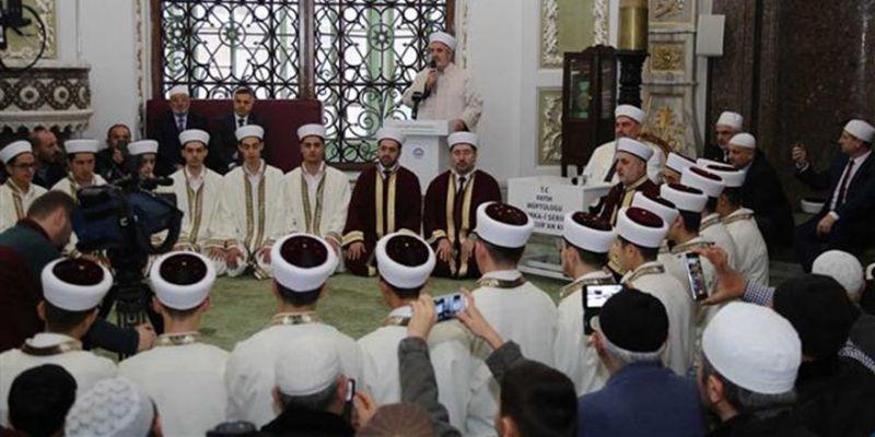 Fatih'te 25 Hafız İcazet Aldı