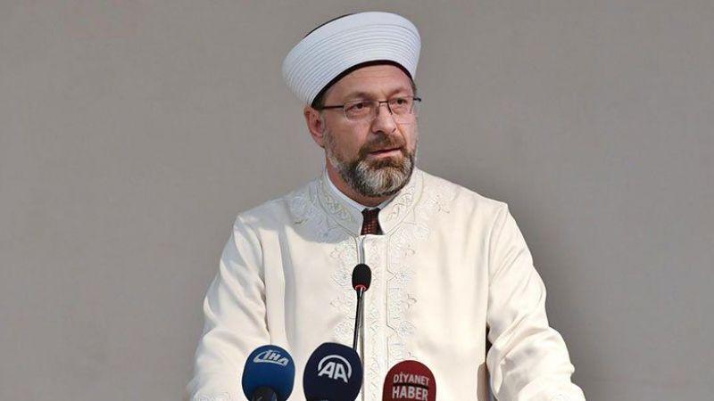 """Ali Erbaş'tan """"Mescid-i Aksa"""" Açıklaması"""
