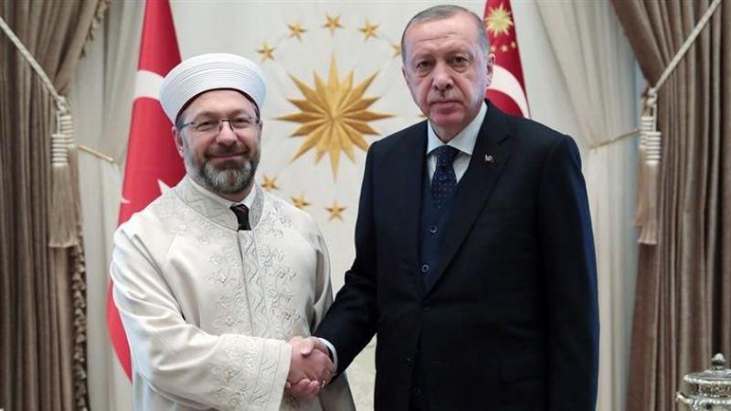 Başkan Erdoğan Erbaş'ı Kabul Etti