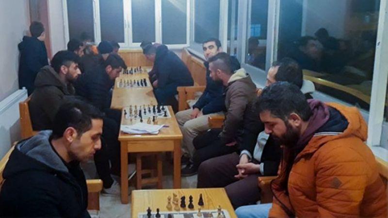 Müftülük Masa Tenisi ve Satranç Turnuvası Düzenledi