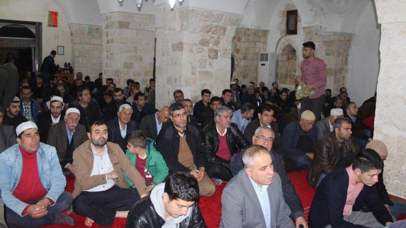Mardin'de Berat Kandili Böyle Eda Edildi