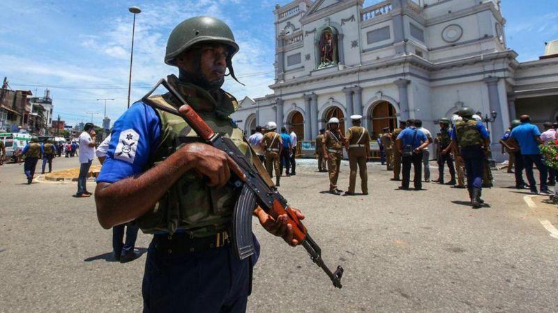 Sri Lanka'da Ölü Sayısı 300'e Yükseldi