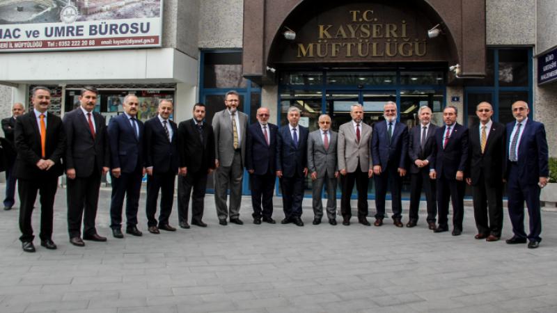 Bölge Müftüleri Kayseri'de Bir Araya Geldi