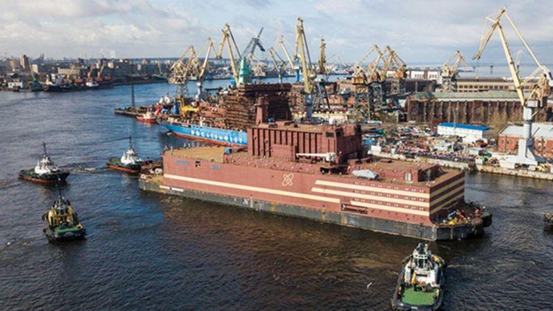 Rusya'dan Yüzer Nükleer Enerji Hamlesi