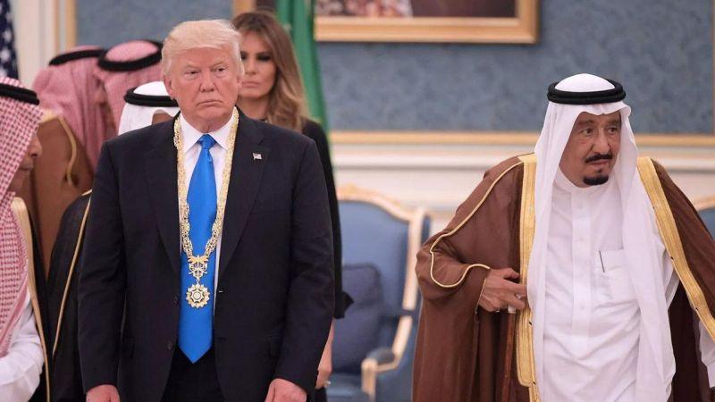Trump Açıkladı: Suudi'yi Savunmak İçin Yırtınıyoruz!