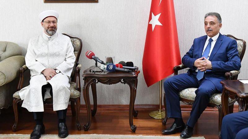 Diyanet İşleri Başkanı Erbaş Konya'da