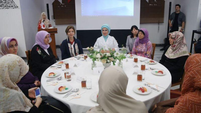 Emine Erdoğan: Diyanet Teşkilatımızı Tebrik Ediyorum