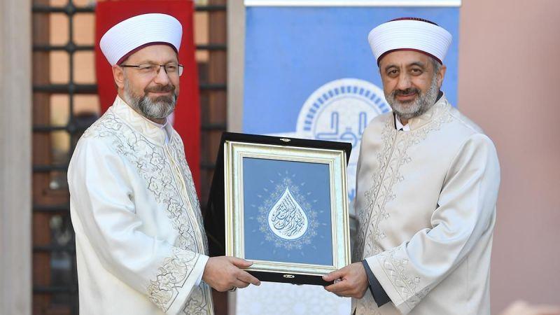 İstanbul Müftüsü Maşalı göreve başladı
