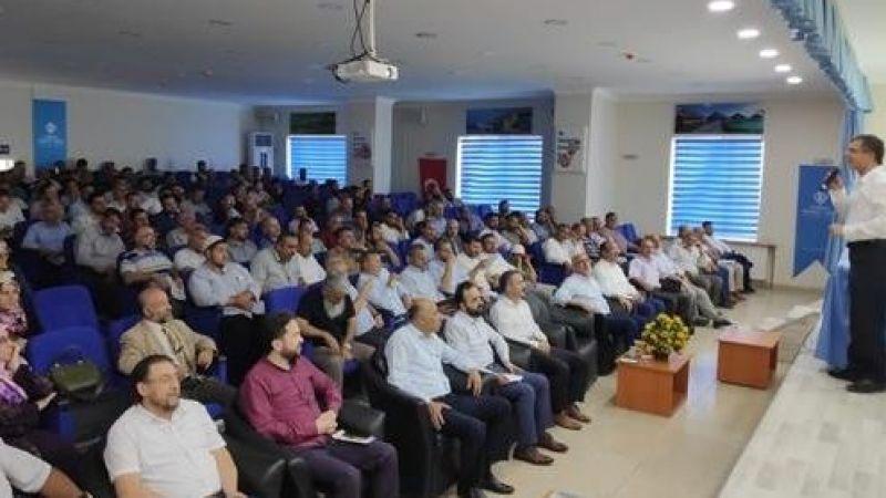 Din görevlilerine kurban kesimi semineri