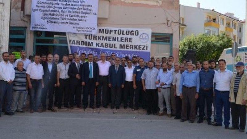 Osmanlı Türkmenlerine yardım tırı