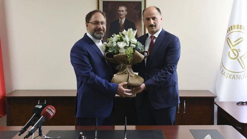 Mehmet Bilgin yeni görevine başladı
