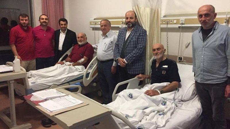 Sakarya'da emekli din görevlileri unutulmadı