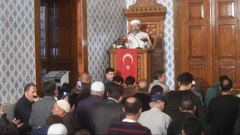 """90 bin camide """"Barış Pınarı"""" için zafer duası"""