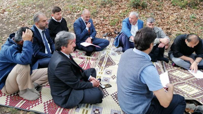 Din Görevlileri piknik alanında toplandı