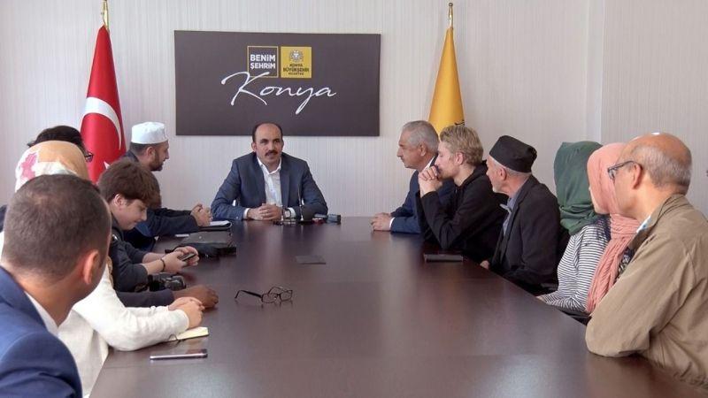 İslam'ı öğrenmek için Konya'ya geldiler