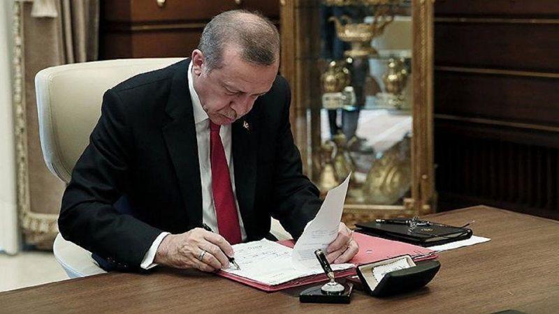 Cumhurbaşkanı Erdoğan imza