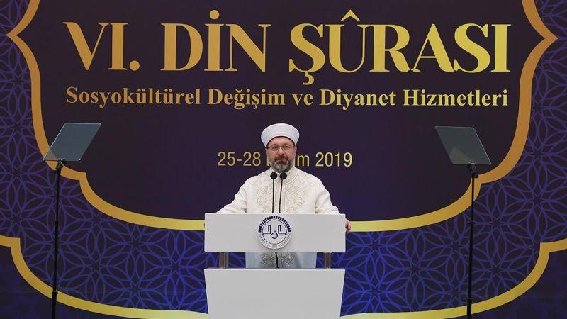 """Başkan Erbaş """"6. Din Şûrası"""" kararlarını açıkladı"""